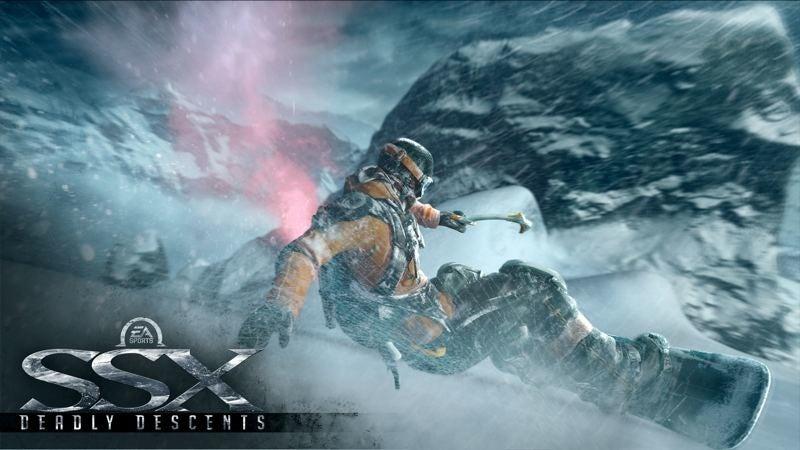 SSX New Screenshots