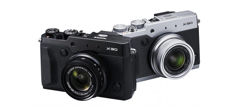 Fujifilm X30: Fuji's Tiny Retro Cam Gets a Real Electronic Viewfinder