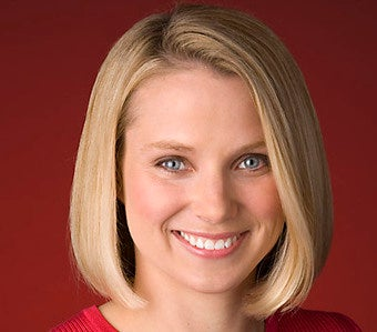 The Unflinching Stare of Marissa Mayer