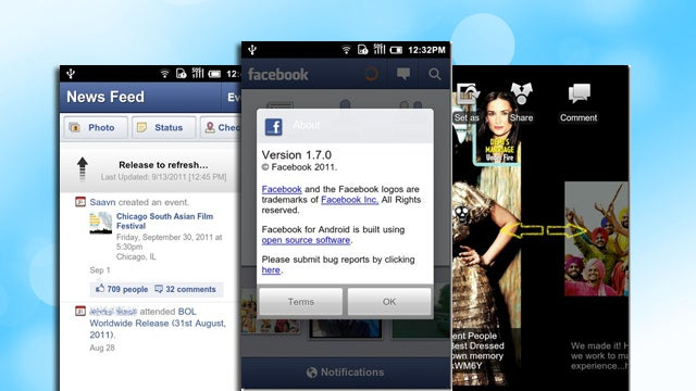 Facebook for Android Updates, Improves Privacy Controls and Adds Pull-to-Refresh News Feed