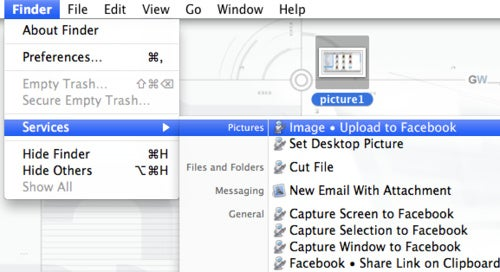 Facebook Services for Mac Share Photos and Links from Your Desktop