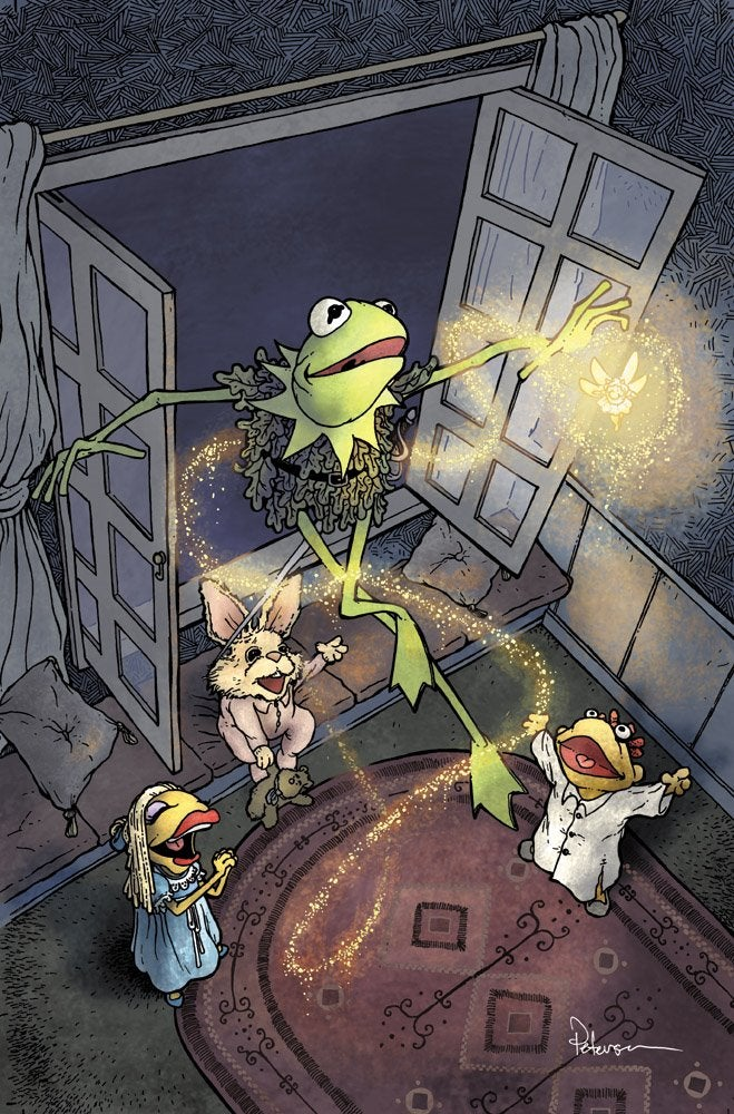 Muppets illustrations reenact classic tales and legends