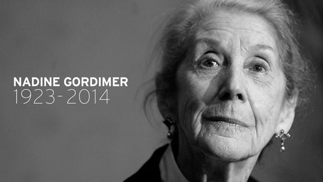 Nadine Gordimer, Nobel Prize-Winning Novelist, Dead at 90