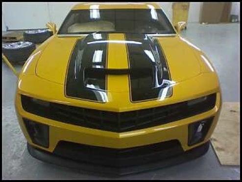 "Transformers ""Corvette Concept,"" ""Z28"" Bumblebee Get A Close-Up"