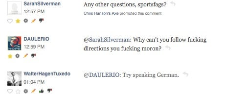 In Case You Missed The Horrible Live Chat With Sarah Silverman, Here's A Rundown