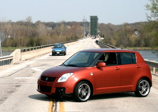 2008 suzuki swift around the block. Black Bedroom Furniture Sets. Home Design Ideas