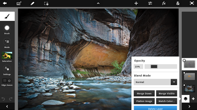 Adobe Photoshop Touch Is Coming to Android Tablets Before the iPad