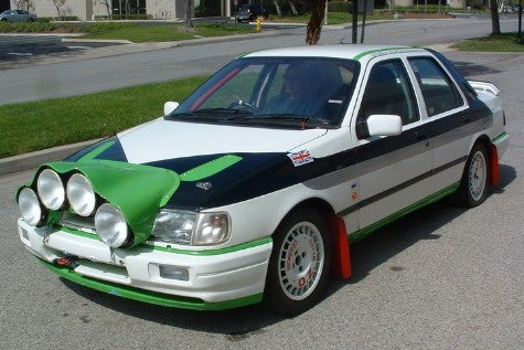 Homologation Ho! Ford Sierra RS Cosworth For Sale on eBay