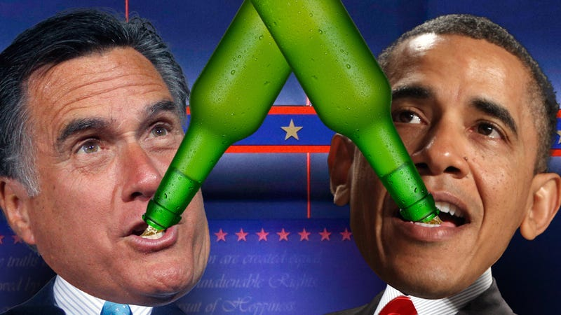 Butt-Chugging the Election: Your 2012 Presidential Debate Drinking Games