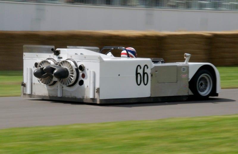 Because. Racecar.