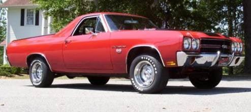 1970 Chevrolet El Camino 454 Super Sport