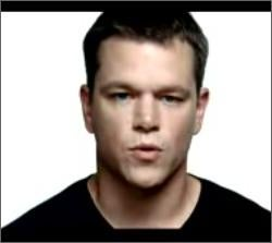 Matt Damon Talks Like Girl To End Poverty