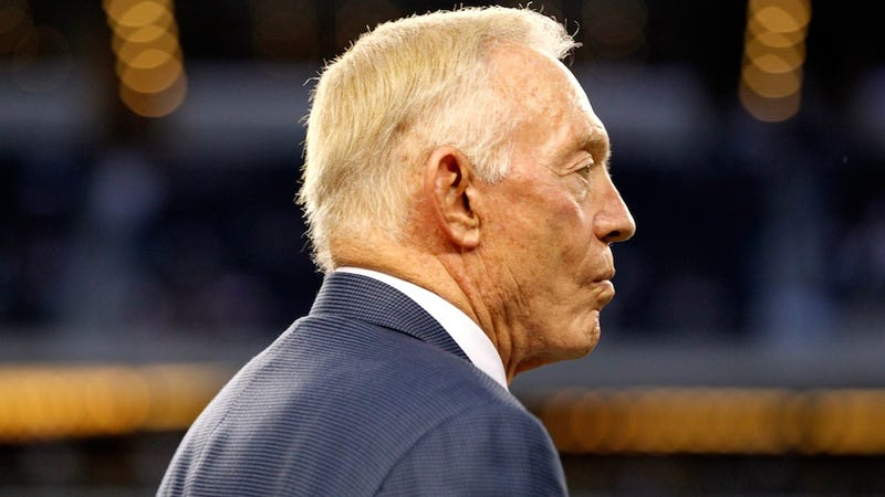 Jerry Jones Was Locked Out Of The Cowboys' Locker Room