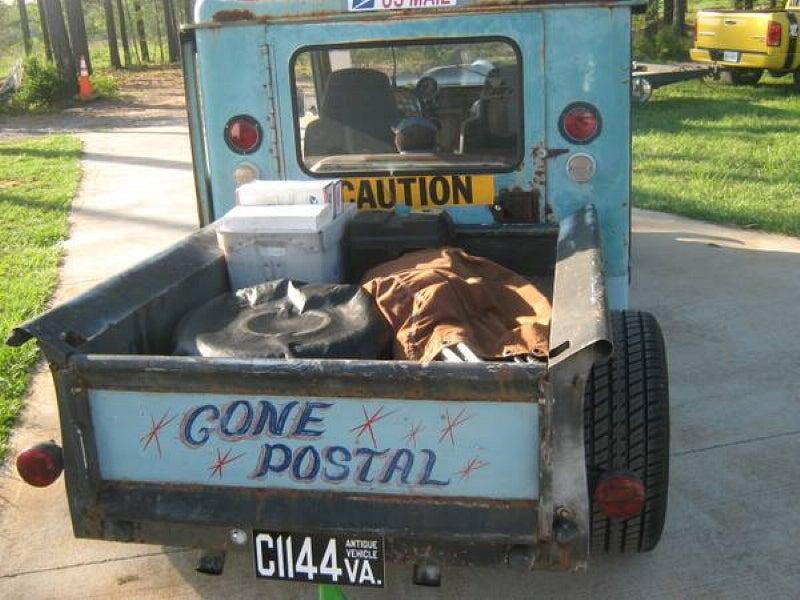 For $9,650, Go Postal