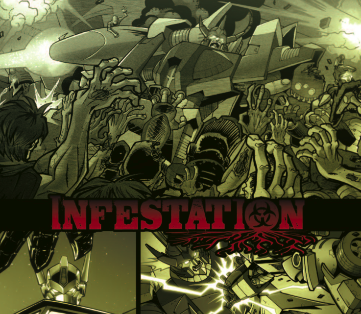 An exclusive look at Transformers: Infestation, IDW's robots vs. zombies miniseries