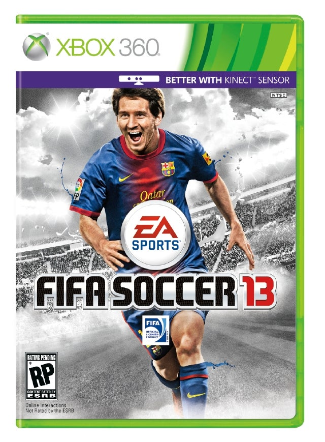 Lionel Messi Headlines FIFA 13's Lineup of Cover Stars