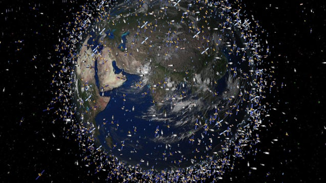 We've Turned Outer Space Into a Deadly Landfill