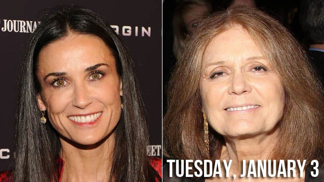 The Part Of Gloria Steinem Will Be Played By... Demi Moore