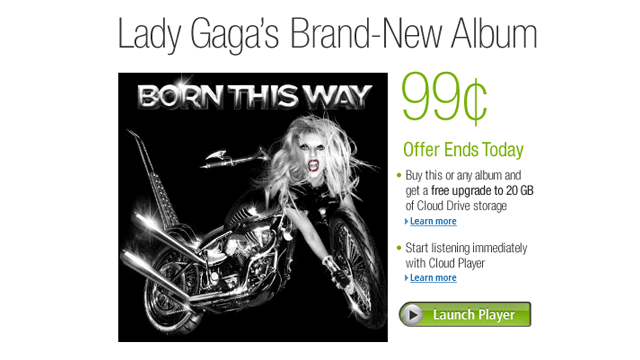 Amazon Goes Round Two with Lady Gaga's Monstrous Little Deal