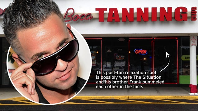 Getting Baked at the Situation's Strip Mall Tanning Salon