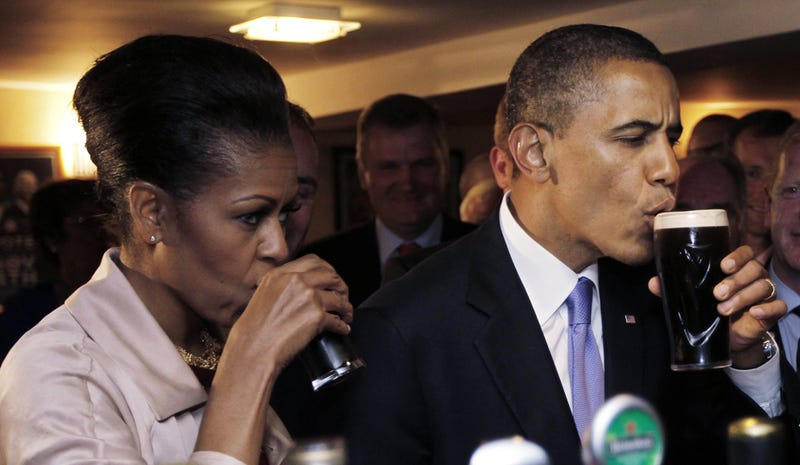 It's Time For Happy Hour With Barack & Michelle