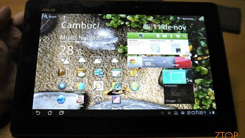 The First Hands On of the Monster Asus Transformer Prime Tablet—From Brazil