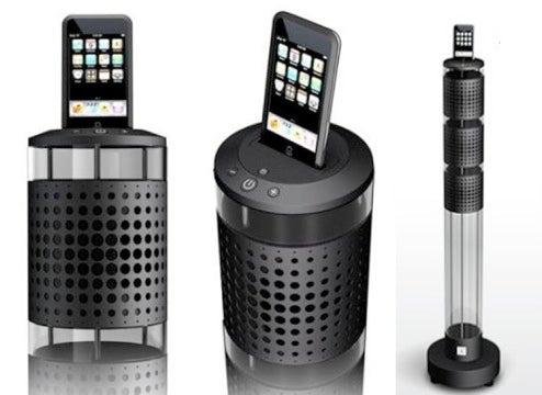 iPod Speaker System by Jean-Michel Jarre's Has Le Style