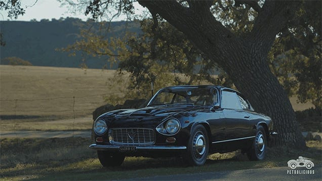 You Can't Text While Driving A Lancia Flaminia Super Sport