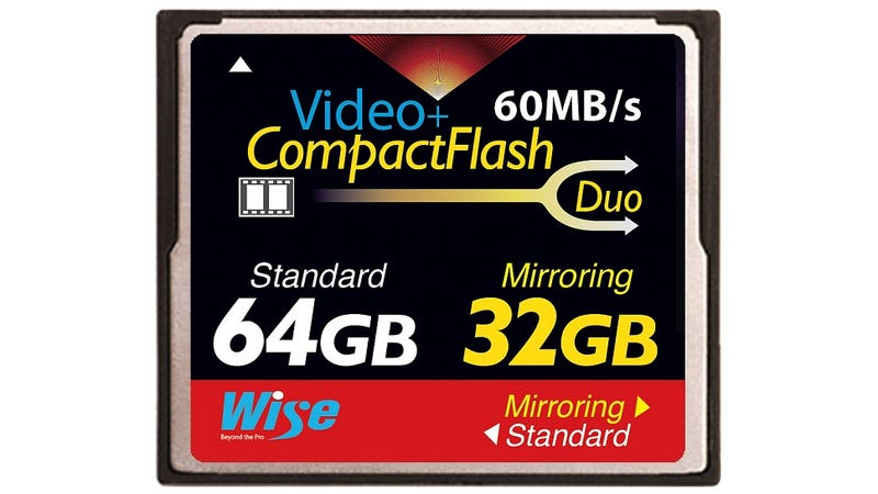 It's About Time a Compact Flash Card Had Built-In RAID