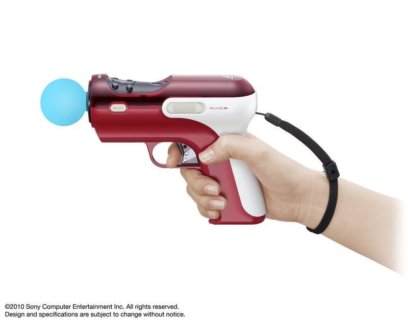 A Closer Look At PlayStation Move's Plastic Gun