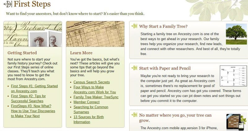Climb Your Family Tree With These Online Genealogy Tools