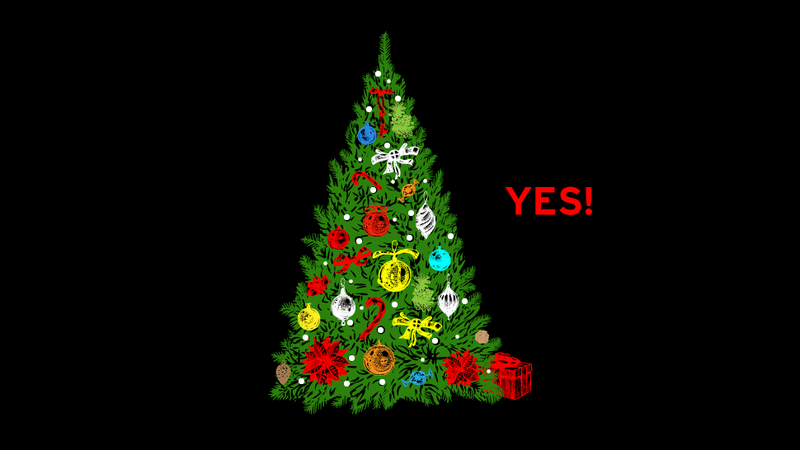 Absolutely Everyone Should Have a Christmas Tree