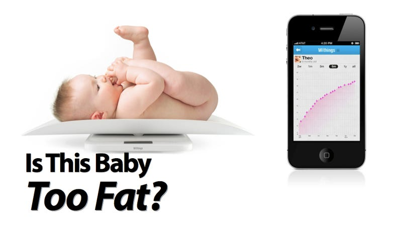 Withings New Scale Tracks Your Fat Baby's Baby Fat