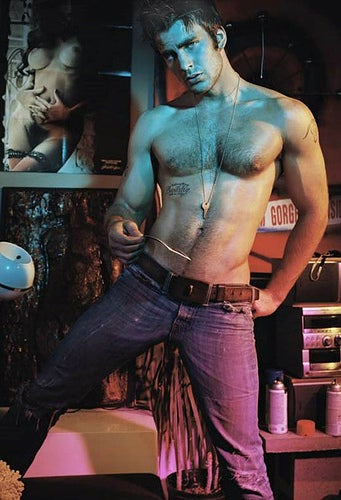 Chris Evans Ordered To Wear Shirts By Beefcake-Averse New Flack