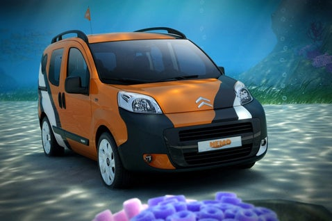 Citroën Nemo Concetto Van Swims into Bologna