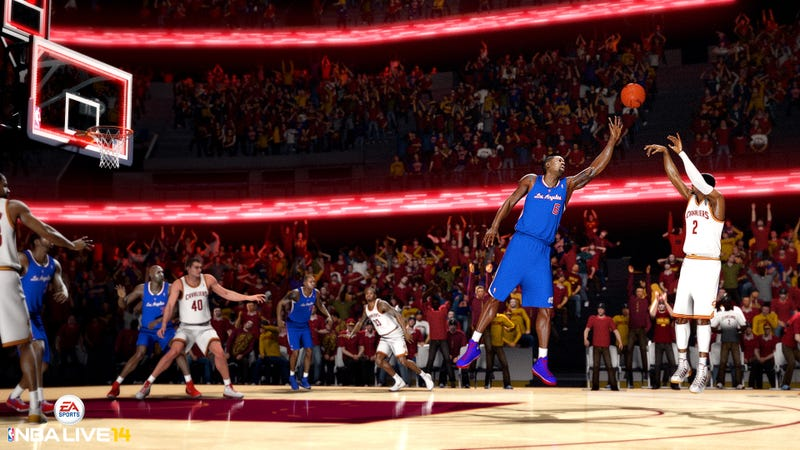 All-Time Greats Will Be Featured in NBA Live 14, Designer Says