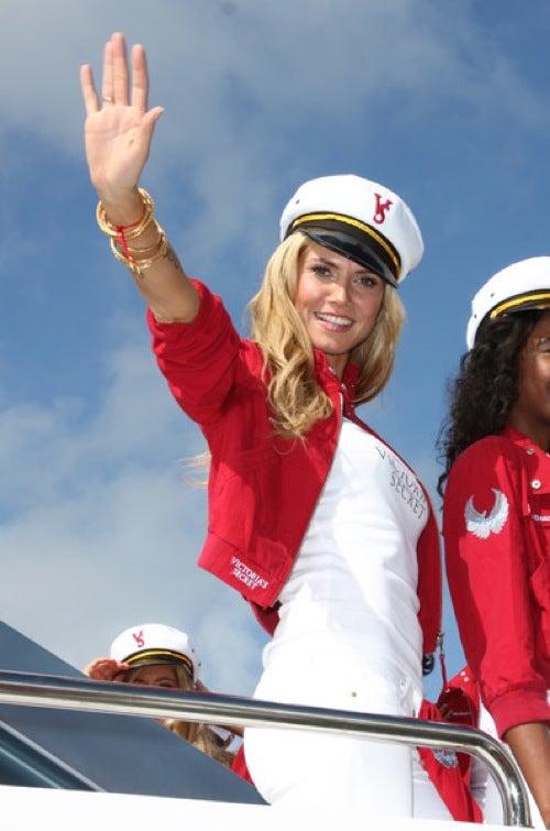 "Heidi Klum: ""I'm Sailing! I'm Sailing!"""
