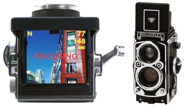It May be Digital, But Rolleiflex's MiniDigi Twin Lens Reflex Has All the Charm of the Original