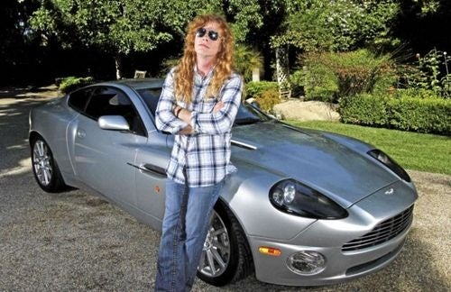 It Pays To Be In Megadeth: From $80 Dauphine To Aston Martin Vanquish