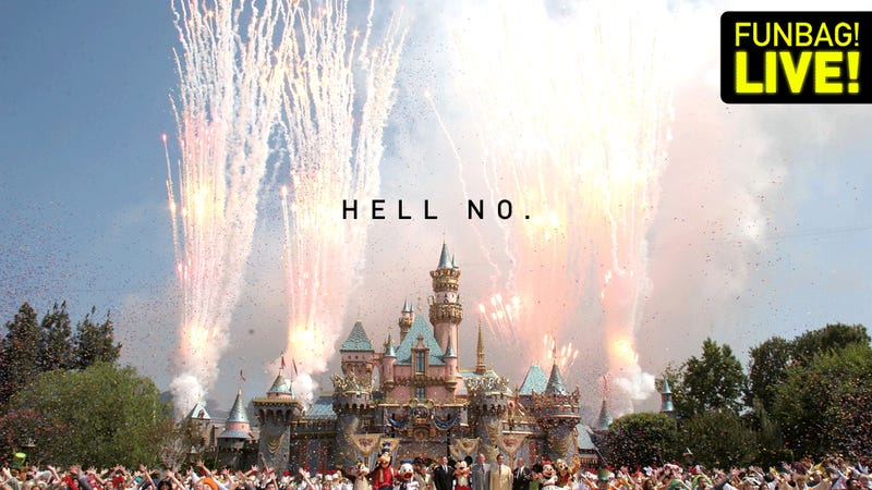 Should You Ever Take A Child To Disneyland?
