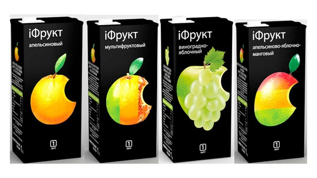 Belarusian iFrukt Juice Laughs at Apple's Puny American Trademarks