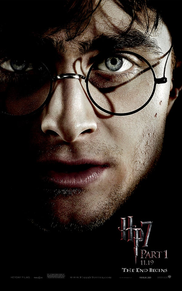 Harry Potter and the Deathly Hallows Pt. 1 won't be in 3-D after all