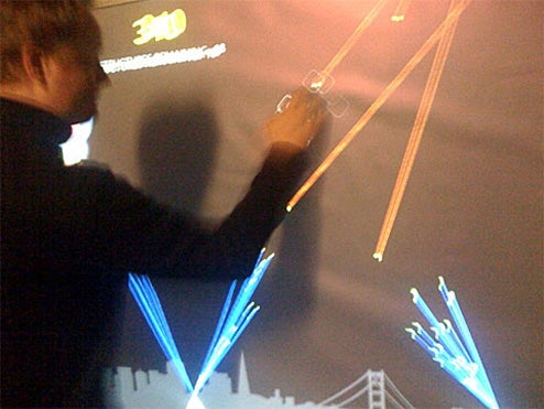 Giant Missile Command: The Best Use of Multitouch to Date
