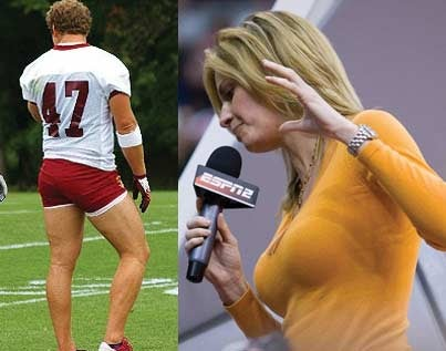 SHOTY Elite Eight: Chris Cooley Vs. Erin Andrews