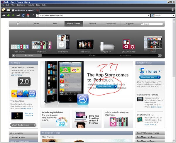 Apple Accidentally Leaks, Unleaks iTunes 8 (It's a Hoax)