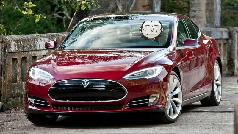 The Tesla Model S Might Have A Vampire Problem