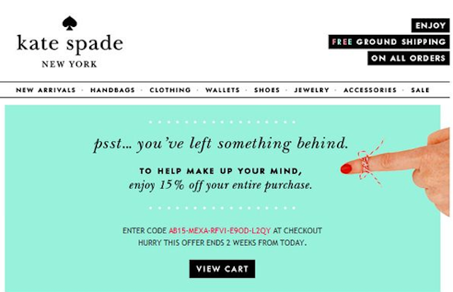 The Retailers Who Will Reward You for Abandoning Your Shopping Cart