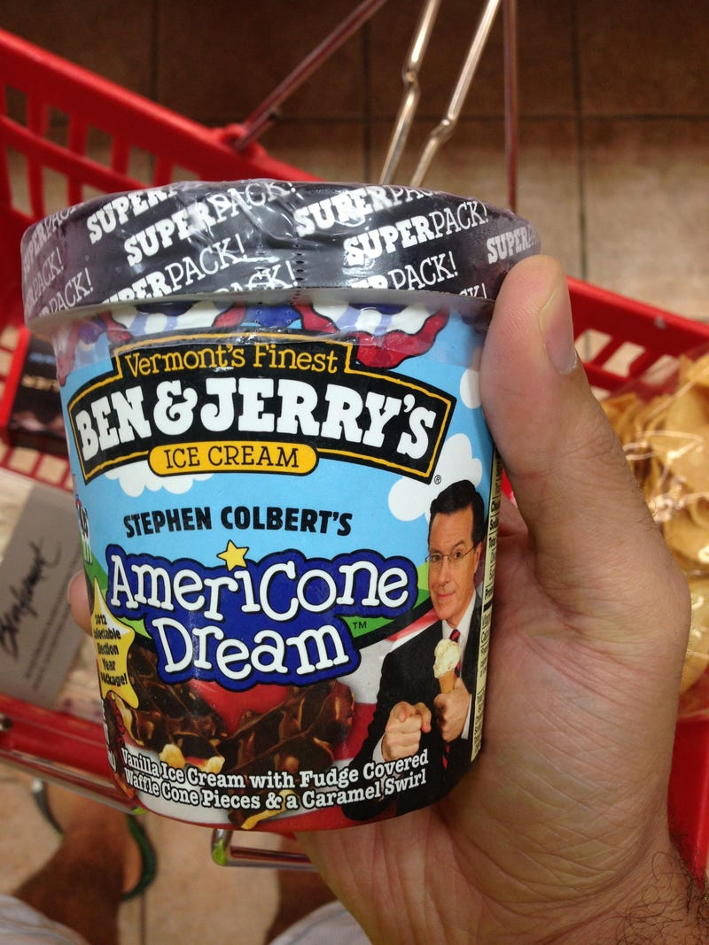 I Want A Taste Of The AmeriCone Dream