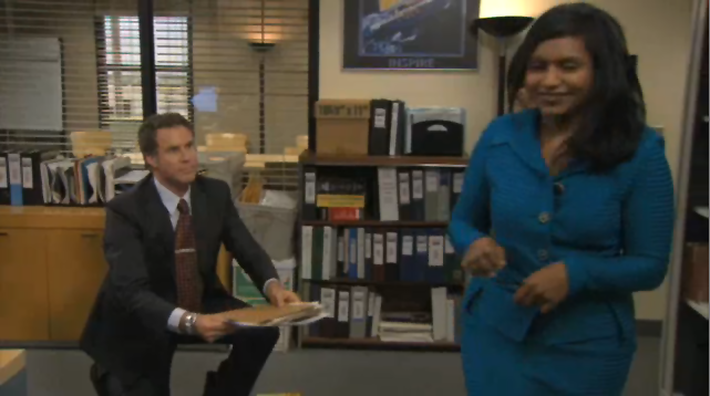 Will Ferrell Meets His New Office-mates