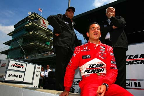 Helio Castroneves Considering Move To NASCAR, Pretending To Bang More Dancers